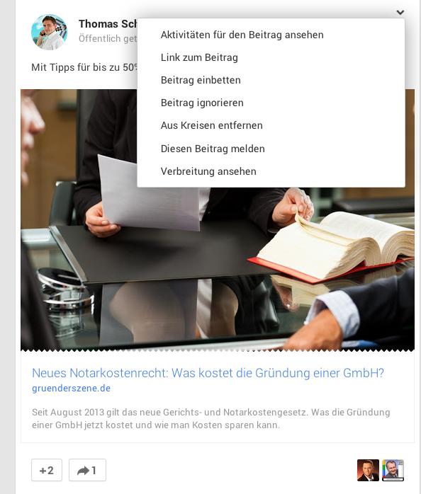 Käthe Fischer Google Plus